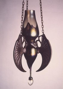 Winged Oil Lamp
