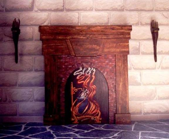 rock fireplaces of the 1800s