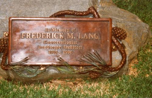 Fred Lang Memorial