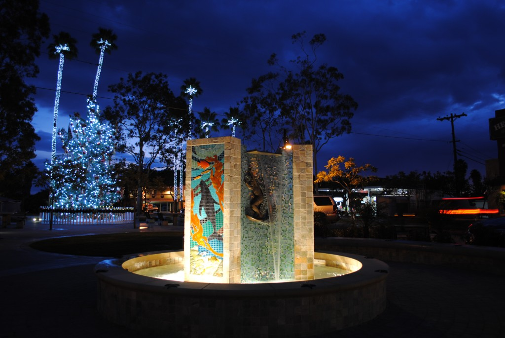 Mary Ellen Thomas Memorial Fountain