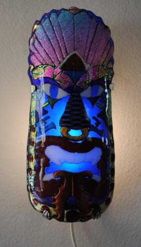 Tiki Wall Sconce II