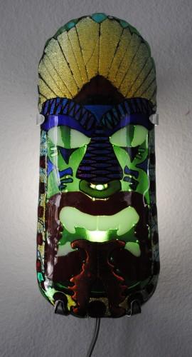 Tiki Wall Sconce I
